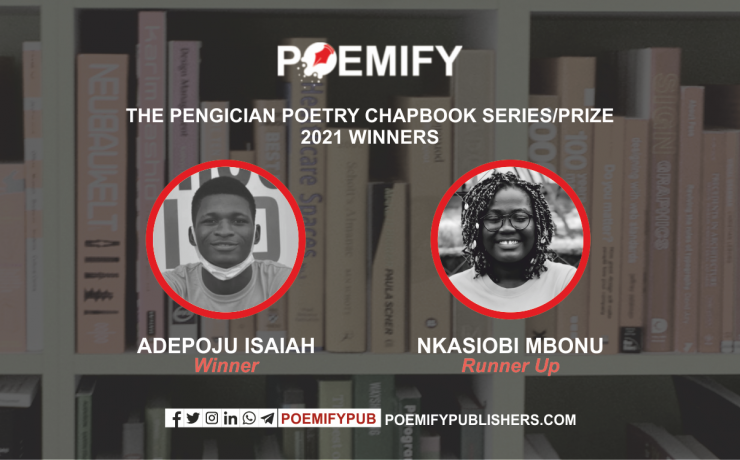 PENGICIAN POETRY CHAPBOOK PRIZE WINNERS